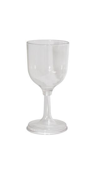 Relags Schroefbaar wijnglas Drinkfles 200ml transparant